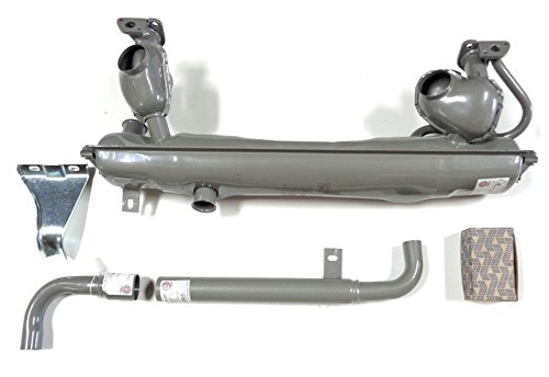 1963 Vw Bus (VW Type 2 Bus 1963-1971 Stock Dansk Exhaust Muffler Kit Complete 1500cc 1600cc)