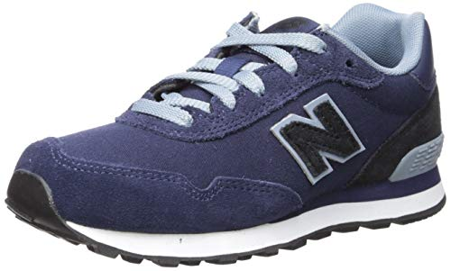 New Balance Boys' 515v1 Sneaker Pigment/Black 3 M US Little - New Wide Shoes Balance Boys