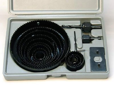 "HOLE SAW SET - 16 pc Hole Saw Kit- 3/4"" - 5"" inch - includes Case by CMT"