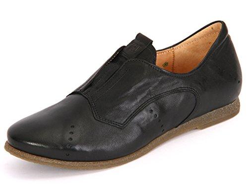Think! WoMen Shua Loafers, Black Black