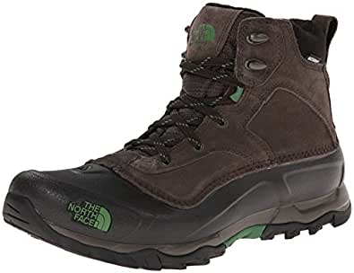 The North Face Men's Snowfuse Insulated Boot- Ganache Brown & Sullivan Green - 7