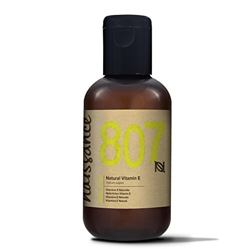 Naissance Vitamin E Oil 3.4 fl. oz. Fades Dark Spots & Circles Under Eyes, Moisturises & Heals Damaged Skin.