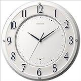 リズム時計工業株式会社 リズム時計 高感度電波掛け時計 スリーウェイブ RHG-T001 4MY832HG03