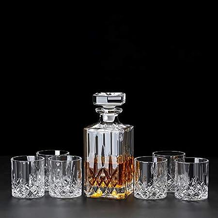 Verres Carafe & Verre à Whisky Ensemble gobelet de Bouteille