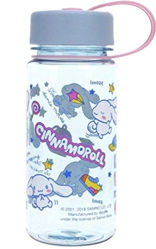 (Cinnamoroll BPA Free Tritan Water Bottle w/Removable Inner Adapter Heat/Cold Resistant Plastic)