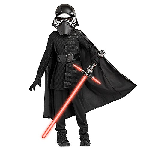 [Star Wars Kylo Ren Costume for Kids - Star Wars: The Last Jedi Size 9/10 428443645945] (Luke Skywalker Endor Costume)