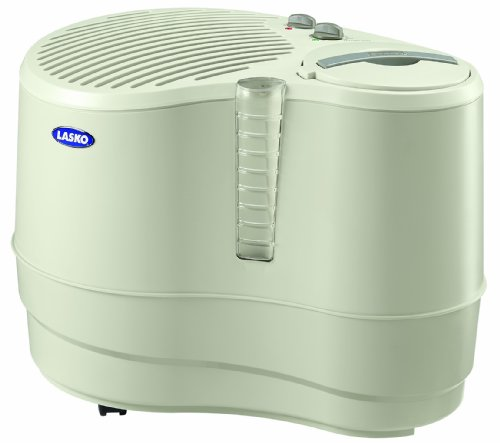 Lasko 1128 Evaporative Recirculating Humidifier, 9-Gallon by Lasko