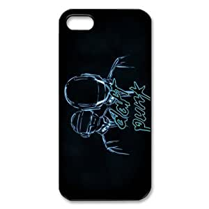 Daft Punk Alive Iphone 5 Case Plastic Hard Music Rock Band Iphone 5 Case Cover by icecream design