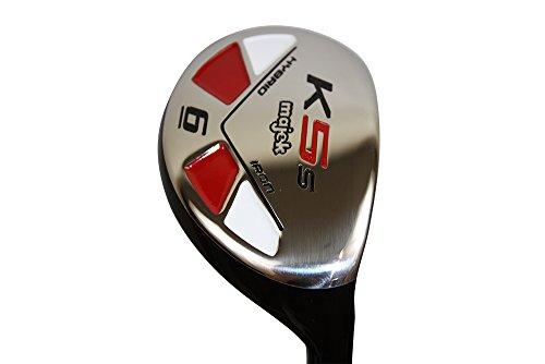 Majek Golf Petite Senior Lady #6 Hybrid Lady Flex Right Handed New Rescue Utility''L'' Flex Club (Petite - 5' to 5'3'') by Majek Golf (Image #1)