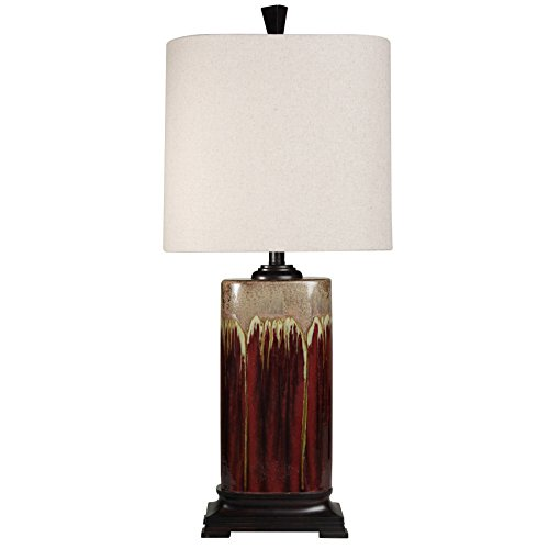 Style Craft L34377 Tandori Spice Table Lamp (Woven Lamps Style Table)