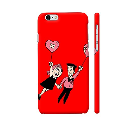 Price comparison product image Colorpur iPhone 6 Plus / 6s Plus Cover - The Love Couple On Red Case | Zen Pencils Official Licensed Merchandise