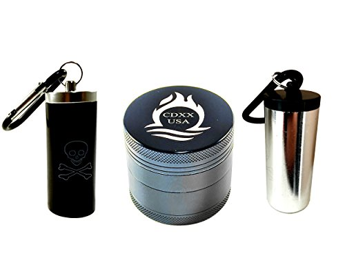 Fantastic Deal! New 2 Four Piece Professional Grinder for Herbs Spices Tobacco made of Premium Grad...