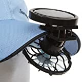 Online-Enterprises Mini Clip-on Solar Power Cell Travel Cooling Cool Fan