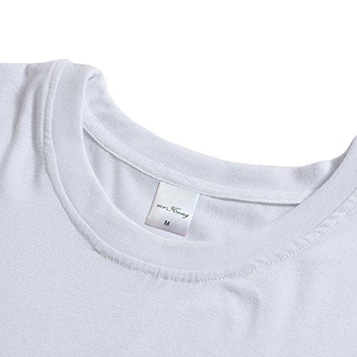 Q.KIM Camiseta de maternidad Elasticidad Suave Embarazada Camiseta Premamá T-shirt bebé divertido estampado Estilo 11