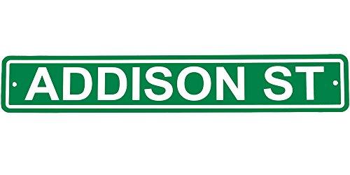 Addison Street Sign by Fremont Die