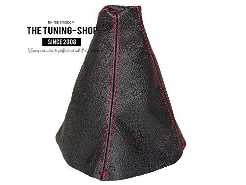 [해외]HONDA S2000 용 2001-03 SHIFT BOOT BLACK LEATHER 적색 스티칭/FOR HONDA S2000 2001-03 SHIFT BOOT BLACK LEATHER RED STITCHING