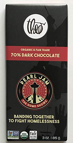 Pearl Jam chocolate bar the home shows seattle theo dark 2018 tour new