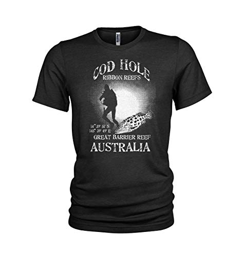 (Cod Hole Great Barrier Reef Scuba Dive site Mens T-Shirt Black)