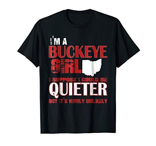 Ohio Shirts Buckeyes State (Buckeye Girl - Ohio State T-shirt For Women)