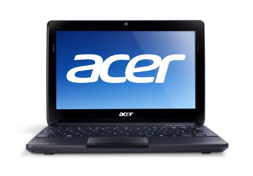 "Acer AOD270-1375 10.1"" Netbook (Intel Atom Processor N2600, 1GB DDR3 SDRAM, 320GB hard drive, Windows 7, Espresso Black)"