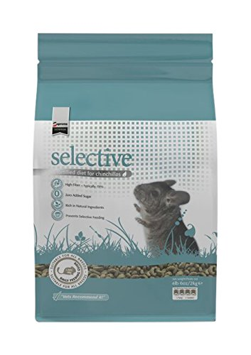 Supreme Petfoods Science Selective Chinchilla Food, 4 Lb 6 Oz