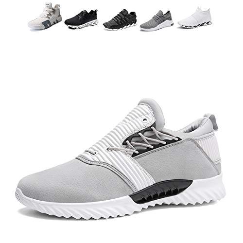Breathable Men Gray4 Shoes Running Yoga Fishing Sneakers Traveling Hiking Sports Jogging Oumanke f7qdWwIxCq