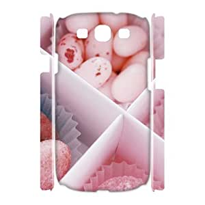 YCHZH Phone case Of Candies Cover Case For Samsung Galaxy S3 I9300