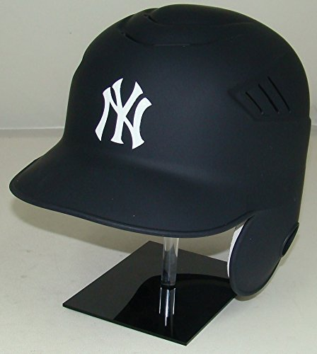 - New York Yankees Matte Navy MLB New Coolflo Style Official Authentic Batting Helmet (for Right Handed Batter)