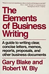 The elements of business writing Hardcover