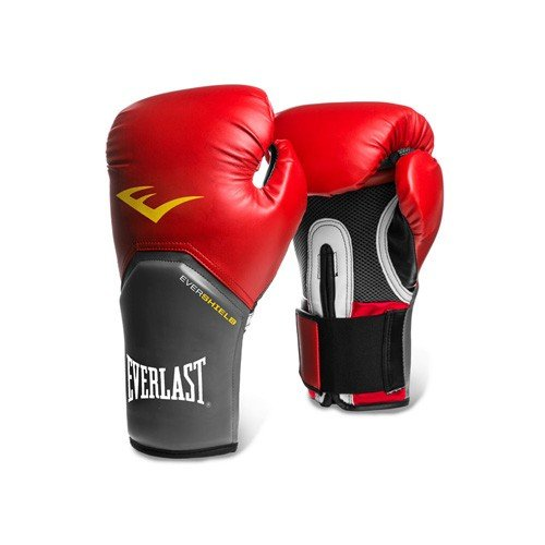 Everlast Pro Style Elite Training Boxing Gloves (Red , 16oz)