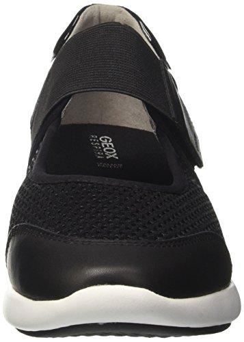 Geox D Ophira F, Bailarinas para Mujer Negro (BLACKC9999)