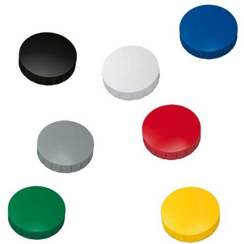 10x Magnete, Farbig sortiert Ø 24mm, Haftmagnete: Amazon.de ...