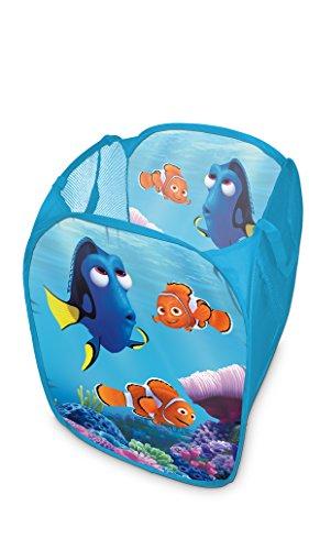 Walt Disney Findet Dorie - Nemo Pop-up Wäschekorb Aufbewahrungskorb, 58 x 36 x 36 cm, blau