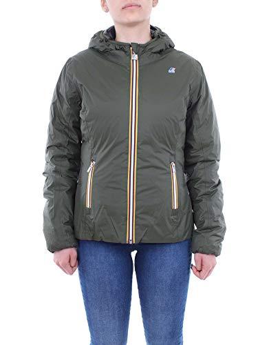 Jacket Black Verde Green And K Reversible way Mujer q8XtB