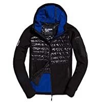 Superdry Mens Mountain Soft Shell Hybrid Jacket Deals