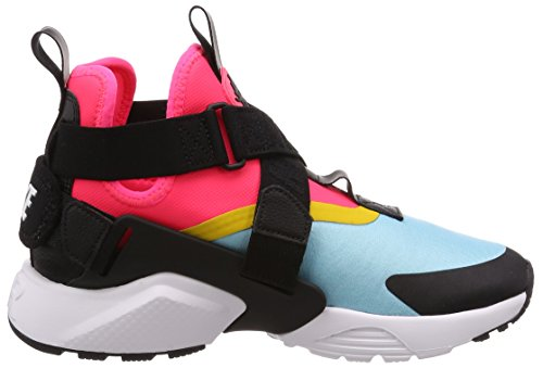 City Black Bleached Sulfur Huarache Sneaker Nike 400 Aqua racer vivid Pink Air Donna Multicolore 84ARE