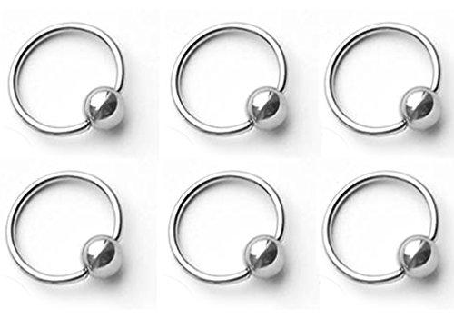 Horseshoe Nail Earrings - 8