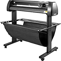 VEVOR Vinyl Cutter 28 inch Vinyl Cutter Machine 720mm Manual Vinyl Printer LCD Display Plotter Cutter Sign Cutting with…