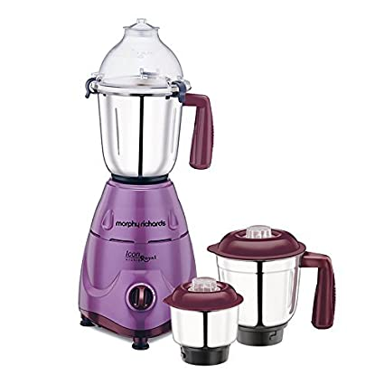 Morphy Richards Icon Royal - Orchid 600W Mixer Grinder Mixer Grinders at amazon