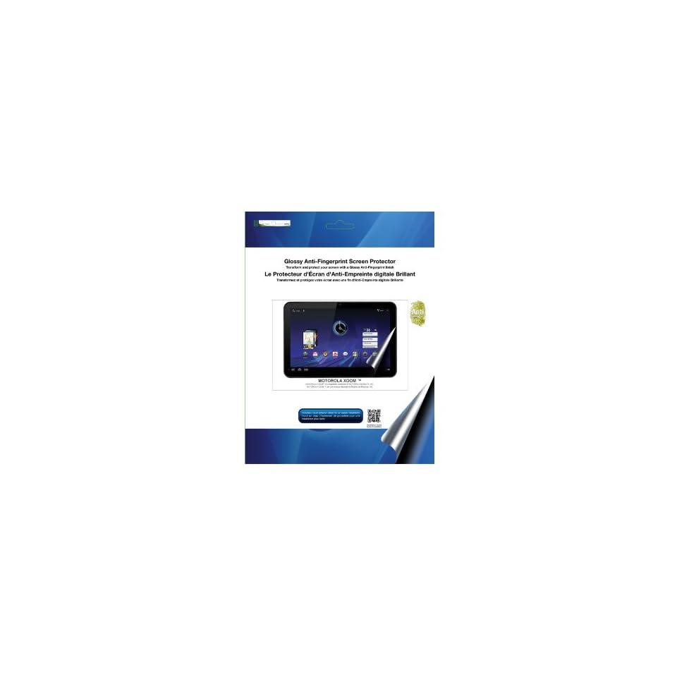 Green Onions Supply Glossy Anti Fingerprint Screen Protector for Motorola Xoom (RT SPBMX01AF)