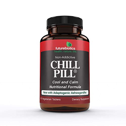 Futurebiotics Chill Pill, Calmness Formula, 60 Vegetarian Tablets