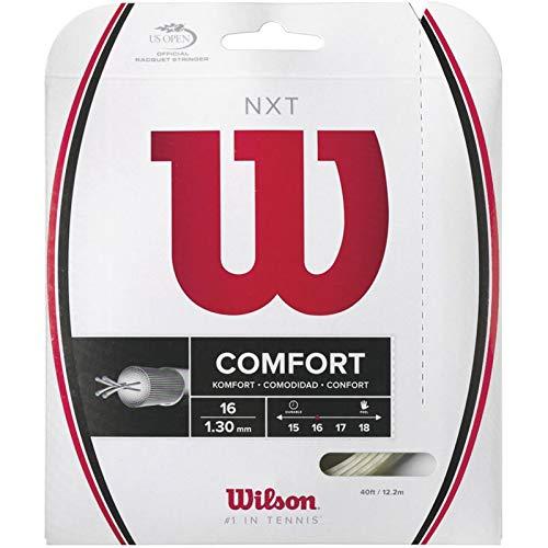 Wilson NXT 16 Tennis Racquet String (16 Gauge, 1.30mm)