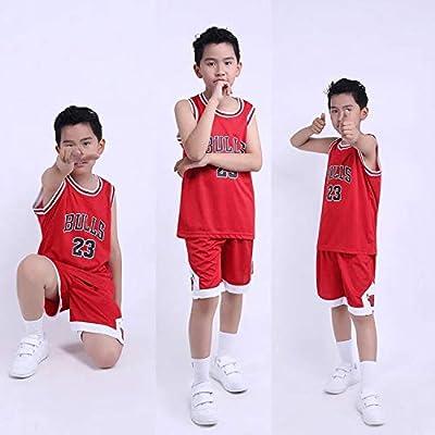 Hanbao Bebe Ropa de Baloncesto Masculino NBA Chicago Bulls 23 ...