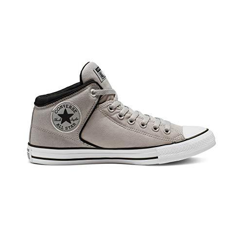 Converse Men's Chuck Taylor All Star High Street Space Explorer Sneaker, Dolphin/Black/White, 9.5 M US