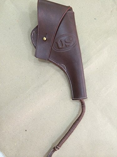 US WWI M1917 .45cal Revolver Leather Holster - Reproduction for sale  Delivered anywhere in USA