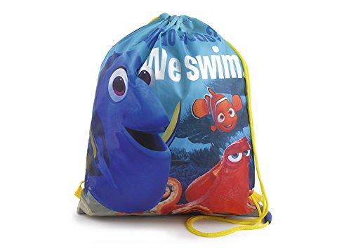 Disney Alla ricerca Dory Nemo Bambini PE Borsa Per La Scuola, Borsa Nuoto, Borsa Chiusura Cordoncino Borsa Da Palestra per la scuola