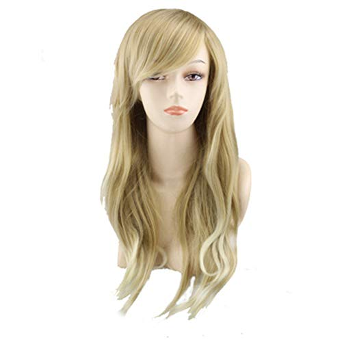 (Wig High Temperature Silk Ladies Hot Sale Anime Europe And The United States Popular Stage Performance Gold)