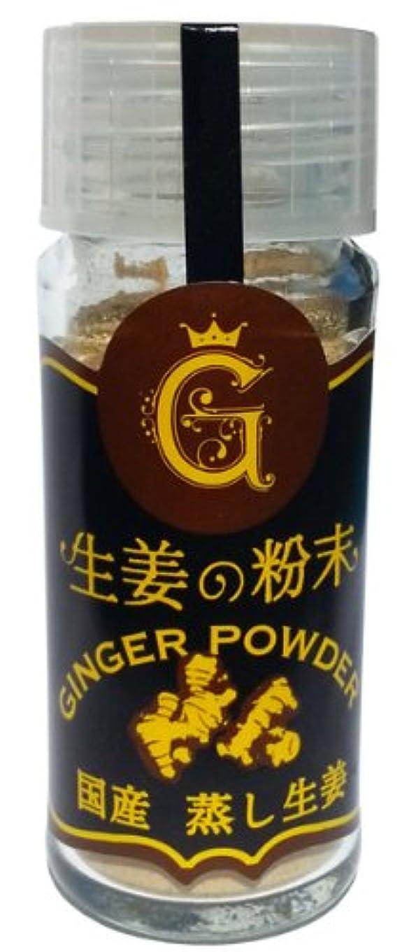 リングレット刺す折るしょうが粉末 100g(Ginger 生姜)国内粉末蒸気殺菌加工 (蒸気殺菌工程 )[02] NICHIGA(ニチガ)