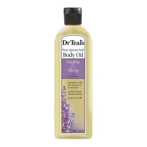 2 Pack of Dr. Teal's Soothe & Sleep with Lavender Body and Bath Oil, 8.8 fl oz ea Dr. Teals
