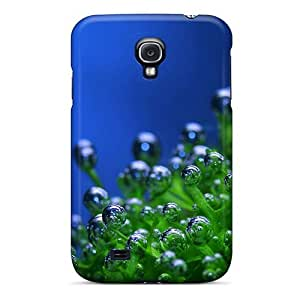 lintao diy Galaxy S4 Case Cover Skin : Premium High Quality Plant Droplets Nature Case